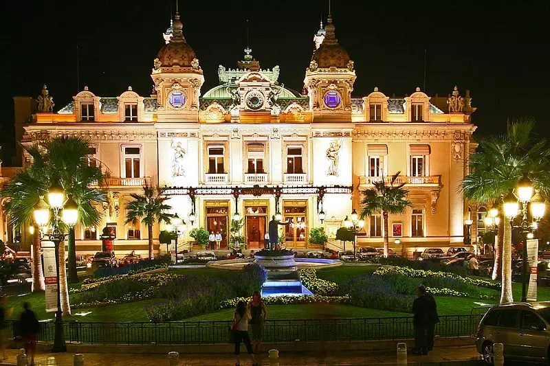 Casino de Monte-Carlo - photo by sam garza from Los Angeles, USA under CC-BY-2.0