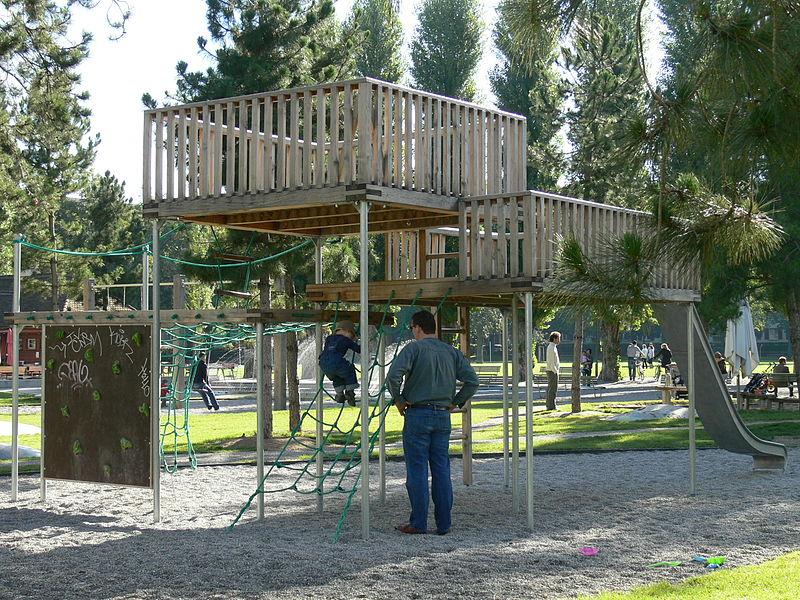 Playground at Josefwiese - photo by Grün Stadt Zürich under CC-BY-SA-3.0