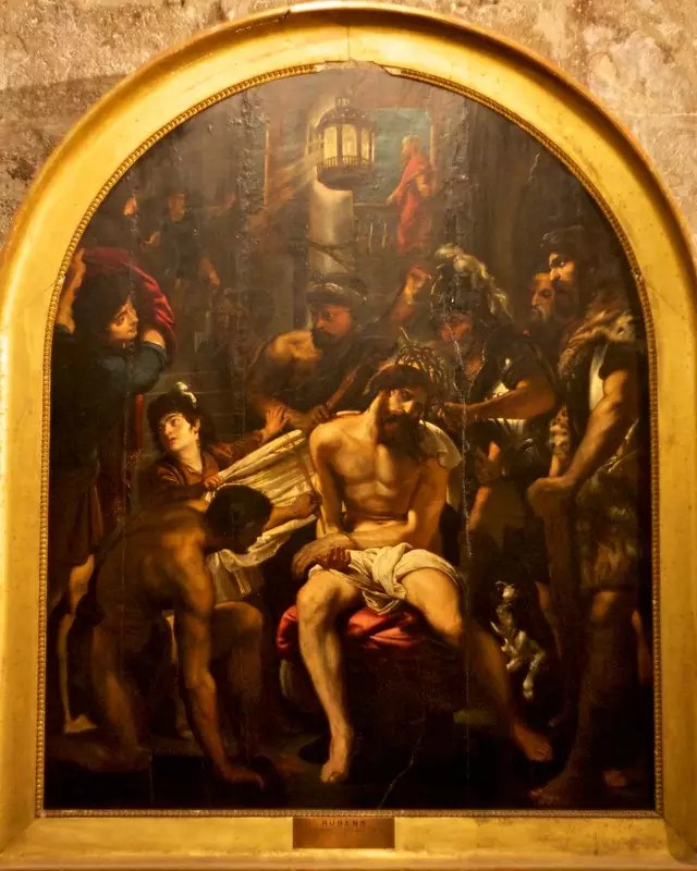 three days in Cannes - A Rubens painting at Cathédrale Notre-Dame-du-Puy de Grasse - photo by Tony Bowden under CC BY-SA 2.0