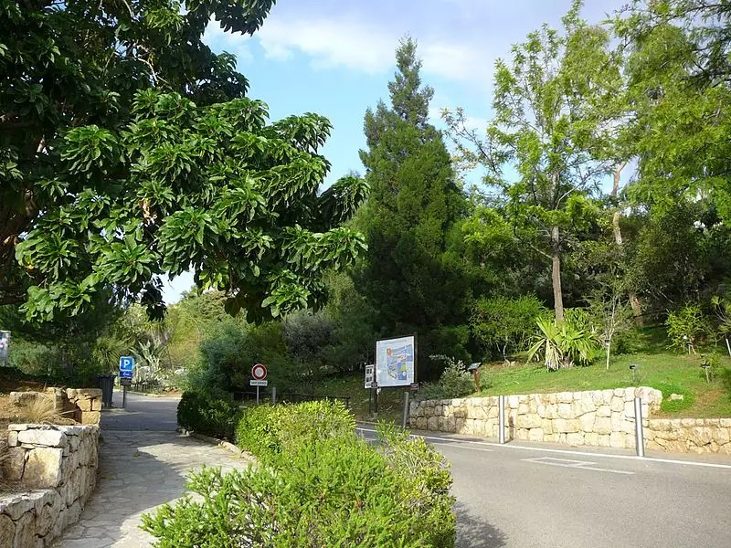 Jardin botanique de Nice - photo by Gossipguy under CC-BY-SA-4.0
