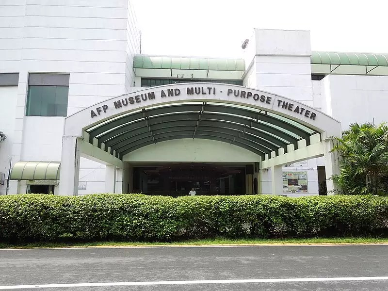 AFP Museum and Multi-Purpose Theater in Camp Aguinaldo - photo by Judgefloro under PD-self