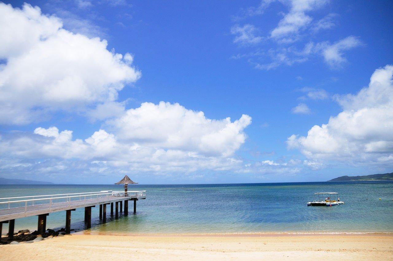 Fusaki Beach in Ishigaki, Okinawa, Japan - photo by ajari Japan https://www.flickr.com/people/ajari/ under CC-BY-2.0