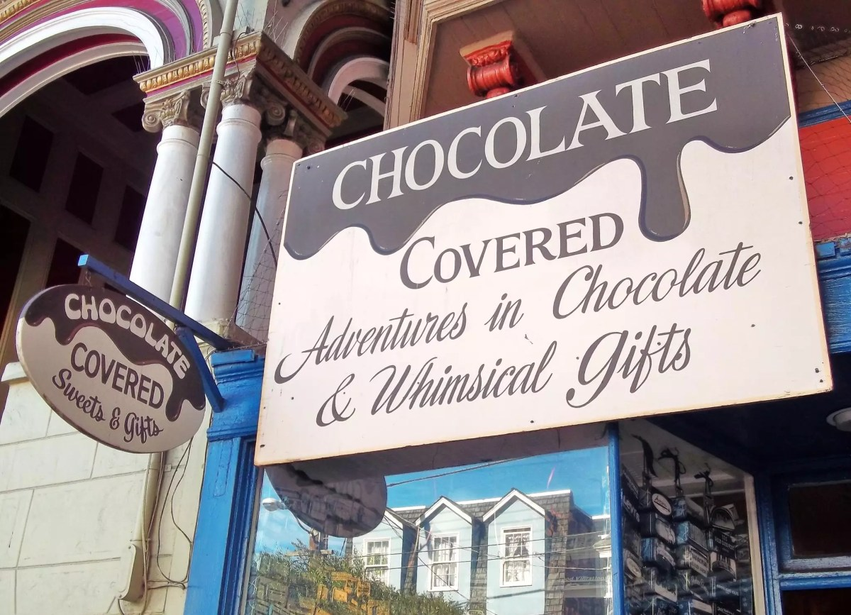 best shopping in San Francisco - Chocolate Covered in San Francisco - photo by Janice Marie Foote under CC BY 2.0