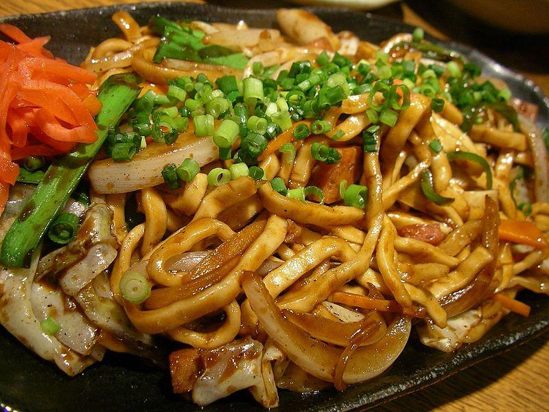 Anthony Bourdain Okinawa - Yakisoba - photo by jetalone from Okinawan restaurant Achi Koko in Yurakucho, Chiyoda, Tokyo under CC-BY-2.0