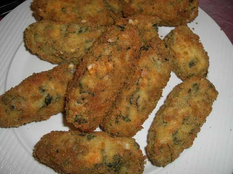 Anthony Bourdain Uruguay - Spinach Croquettes - photo by Catherine Bulinski under CC BY-ND 2.0
