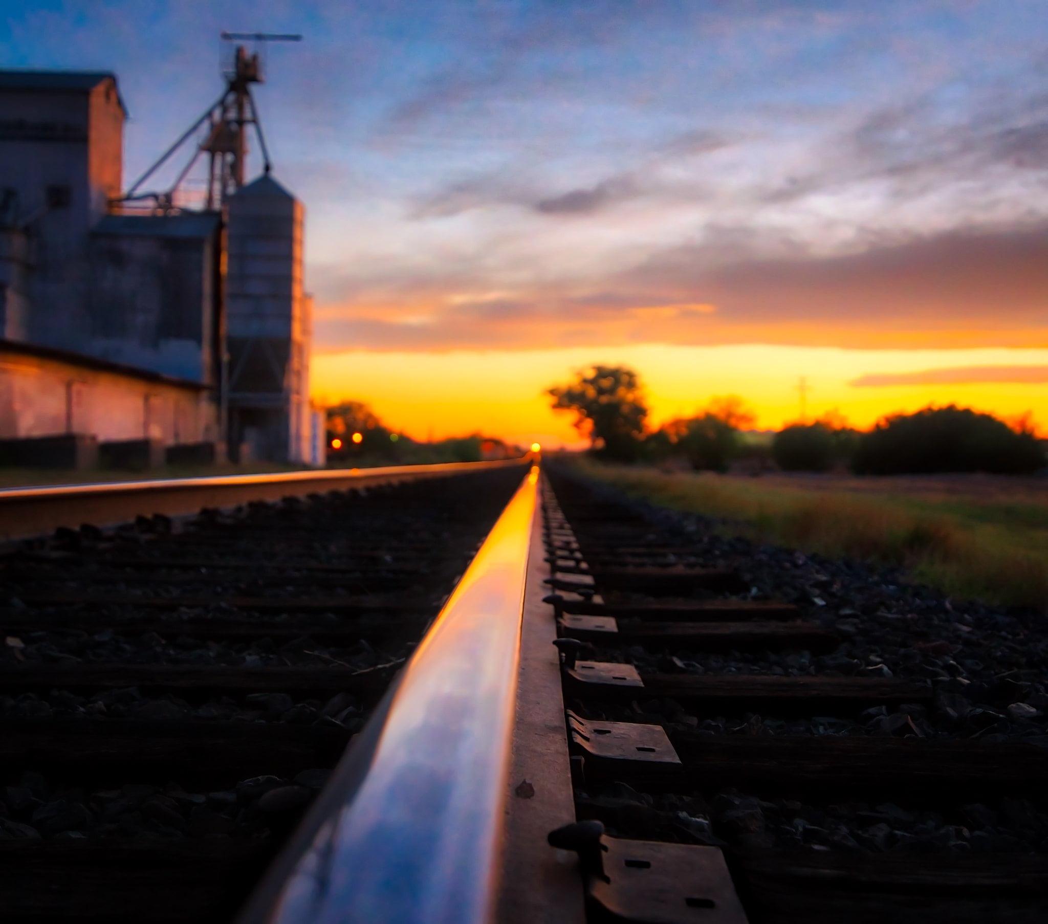 Train Tracks in Marfa TX - photo by sbmeaper1 under CC0 1.0