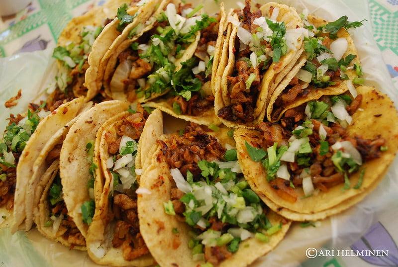 Anthony Bourdain New Mexico - Tacos al Pastor - photo by Ari Helminen under CC BY 2.0