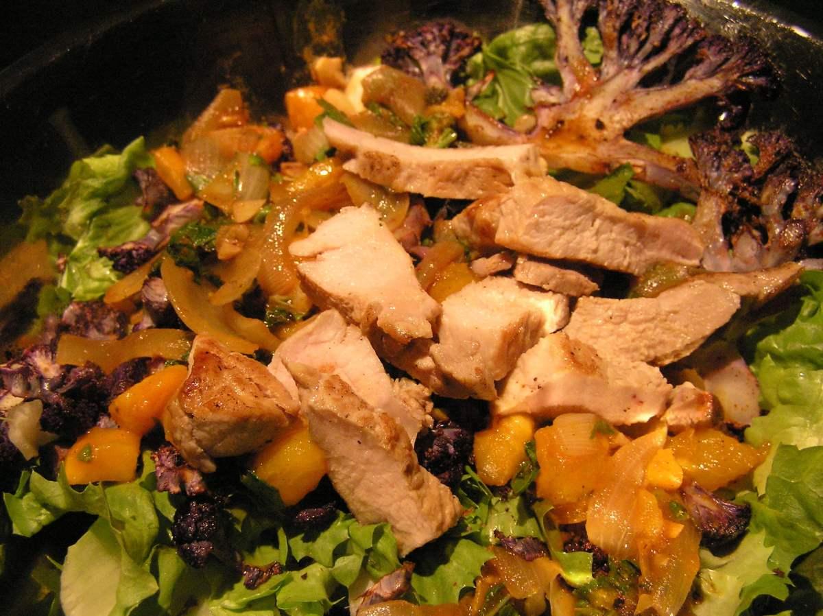 Anthony Bourdain Montreal - Pork Salad - photo by Laurel F under CC BY-SA 2.0