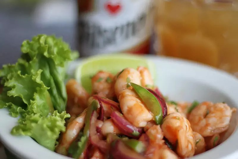 Shrimp Ceviche - photo by Gustavo Andrade under CC BY 2.0