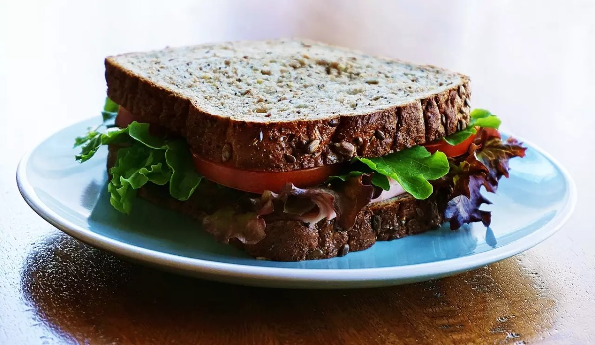 Anthony Bourdain Amsterdam - Wheat Bread Sandwich - photo by Suzy Hazelwood under CC0 Public Domain