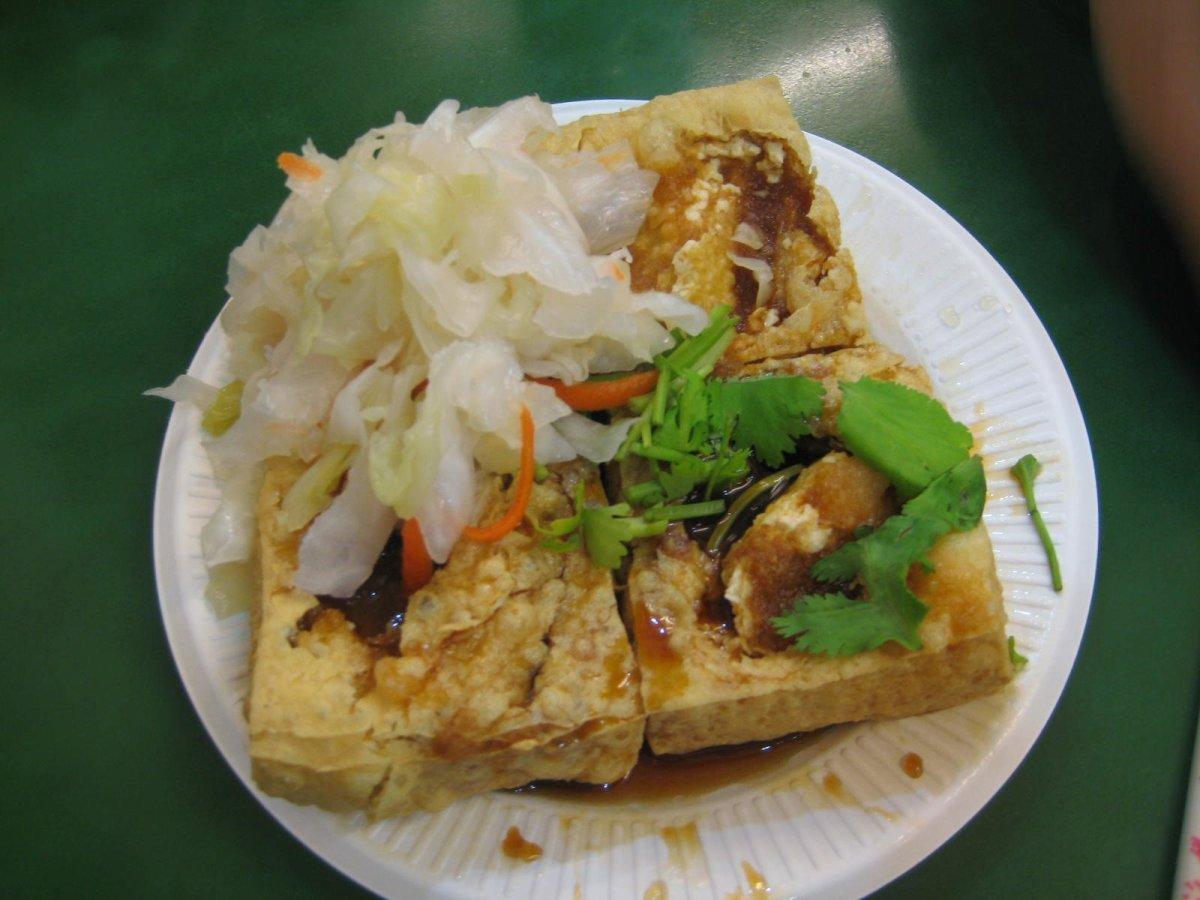 Anthony Bourdain Taipei - Stinky Tofu - photo by jewell willett under CC BY 2.0