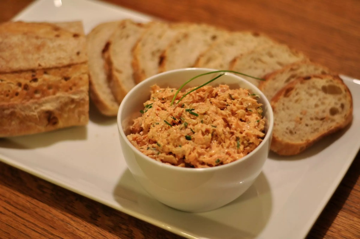 No Reservations Las Vegas - Salmon Rillettes - photo by Kimberly Vardeman under CC BY 2.0