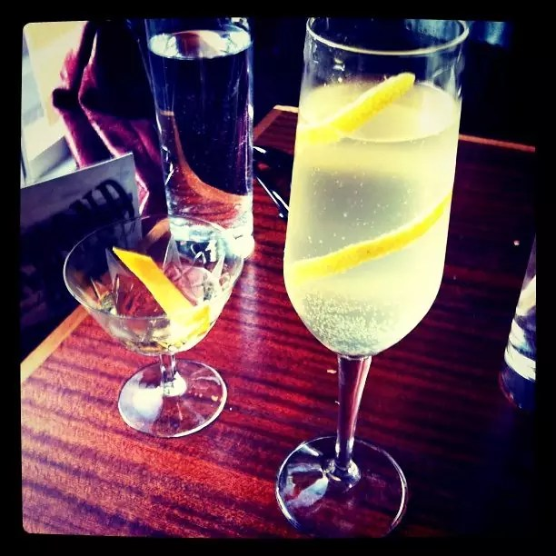 French 75 - photo by Jules Morgan under CC BY 2.0
