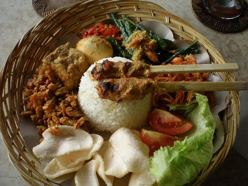 Anthony Bourdain Malaysia - Nasi Campur - photo by Fei Tan under CC-BY-2.0