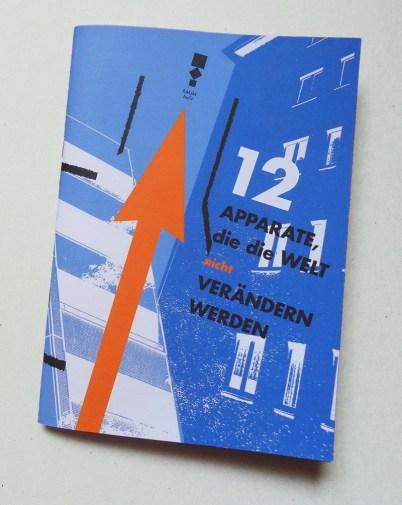 """Buchcover """"12 Apparate, die die Welt (nicht) verändern werden"""""""