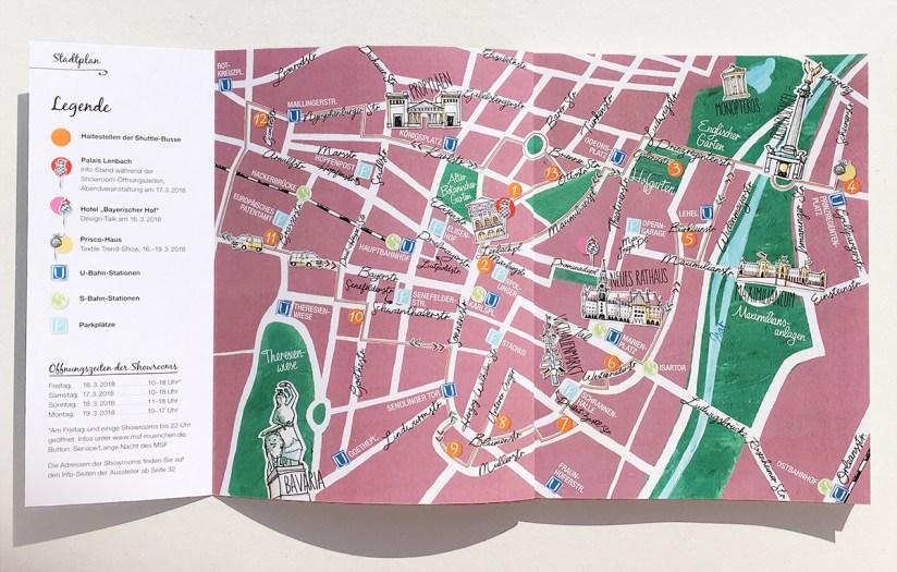Booklet zum Münchner Stoff Frühling