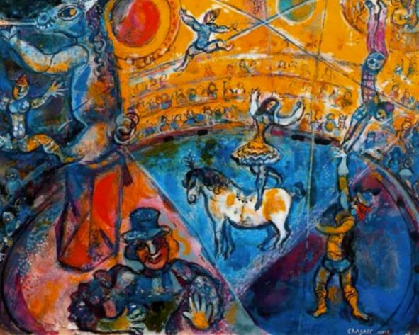 Chagall_Circus