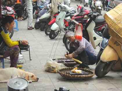 Vendedores de rua