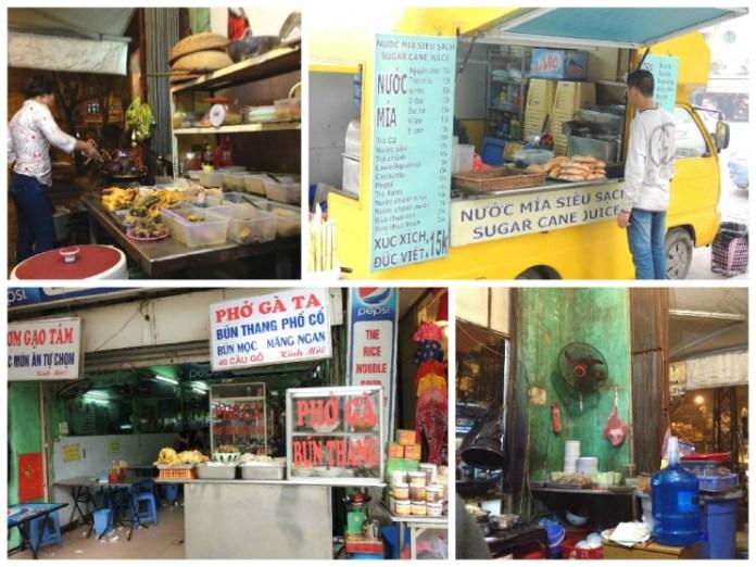 Comida em Hanói