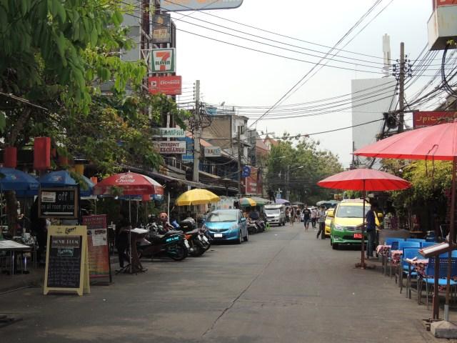 Barraquinhas em Bangkok