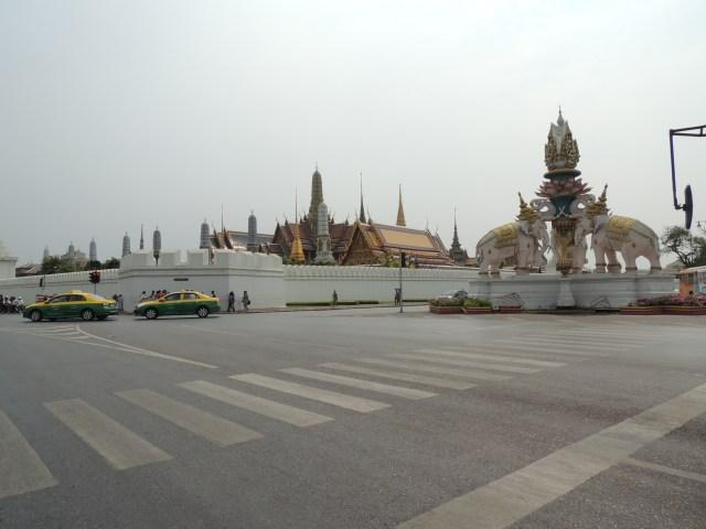Templo budista em Bangkok