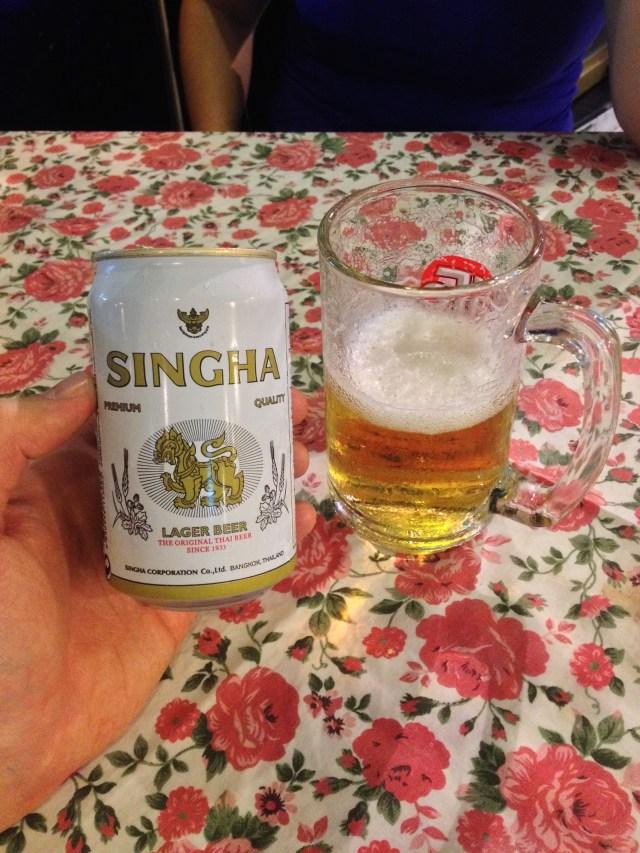 Singha - a cerveja dos viajantes