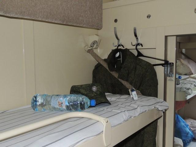 Na nossa cabine