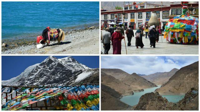 Tibet em quatro imagens