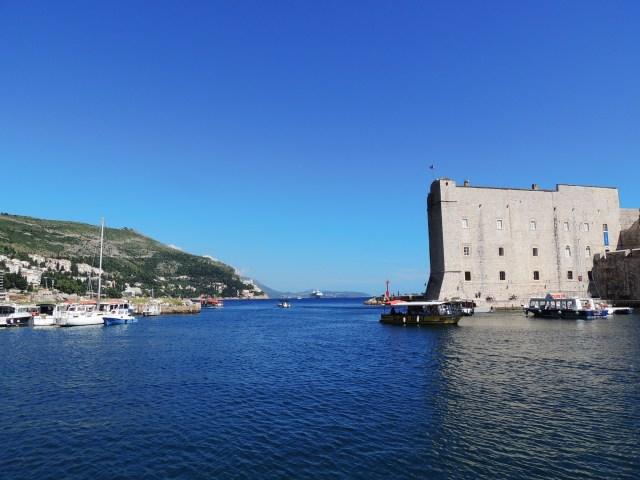 Mar Adriático em Dubrovnik