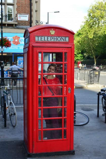 telefone vermelho londres