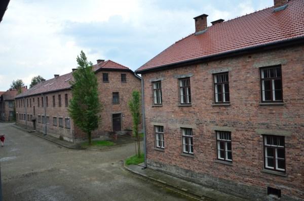 Prédios administrativos e hospitalares em Auschwitz I