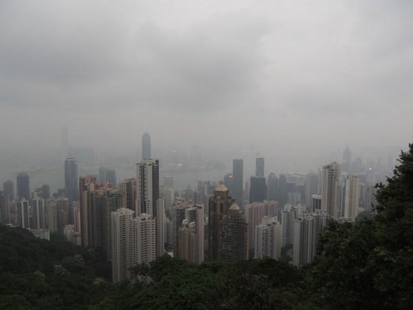 Olha essa vista de Hong Kong