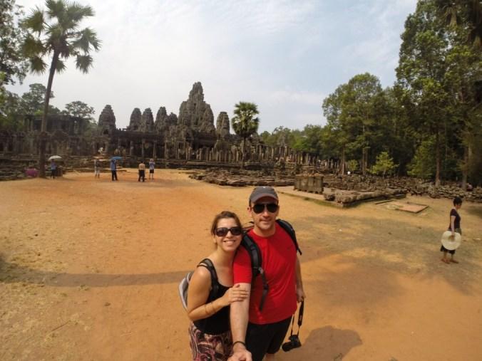 E o calor estava de MATAR no Cambodja