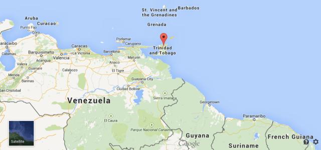 Pertinho, pertinho da Venezuela
