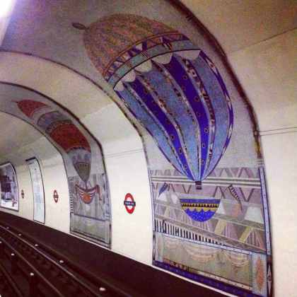 Arte no metrô