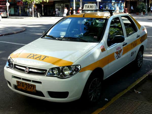 taxis em montevidéu