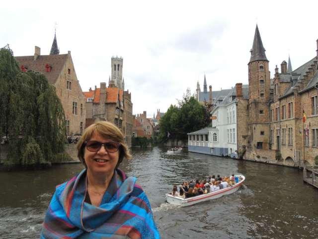 Canal em Bruges Bélgica