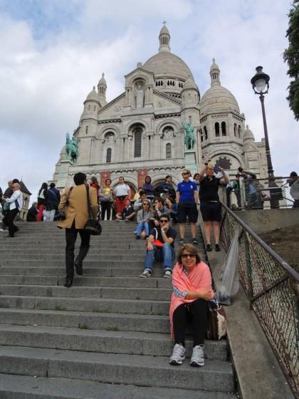 Escadas Sacre Couer