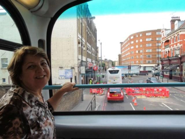 Ônibus dois andares Londres