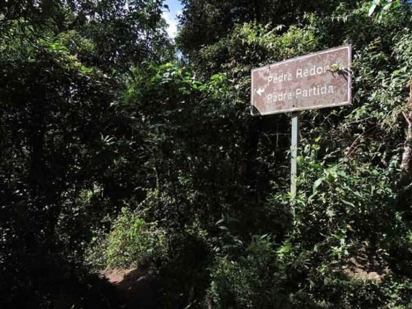 Mais sinalização Pedra Redonda