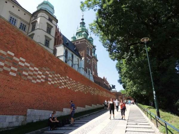 Entrada Castelo de Wawel
