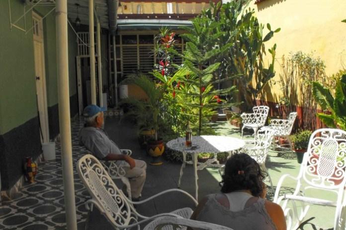 Casa de família em Trinidad, Cuba