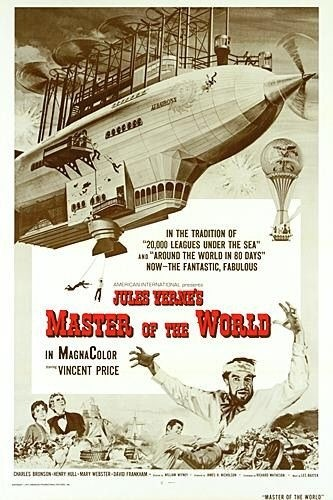 affiche du film tiré du roman de Jules Verne