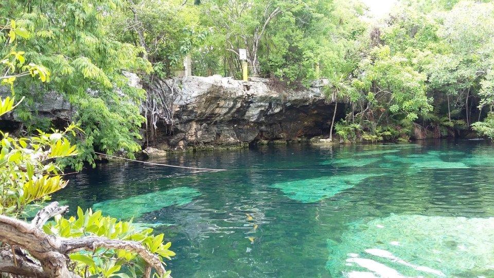 Cenote Cristalino by KARLA GOMEZ (CC)