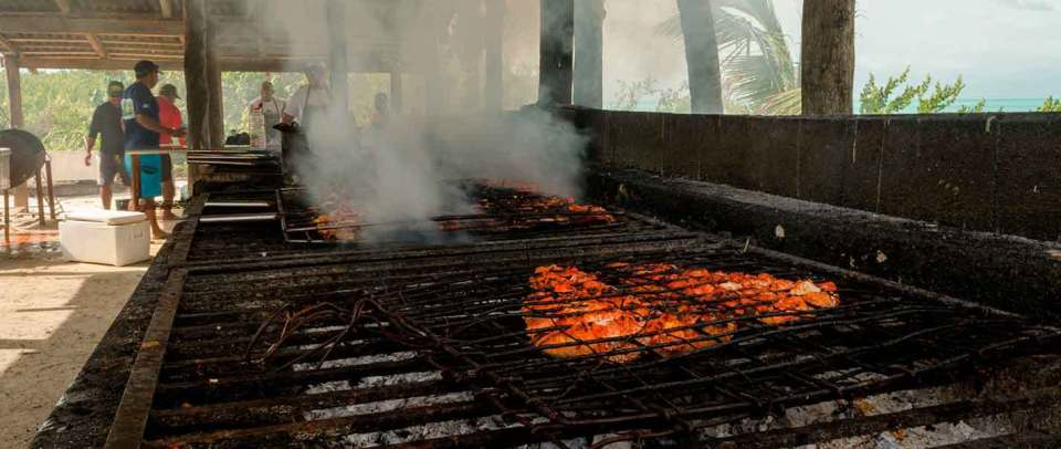 Contoy Island Adventure Tour tikinxic grilled fish