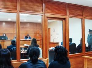 Juicio en Valdivia