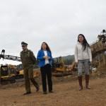 Coordinan mesa de seguridad con vecinos del sector Iñaque tras ataque incendiario
