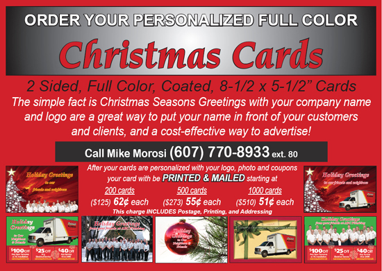 Holiday Cards For Plumbing And HVAC Companies Contractor