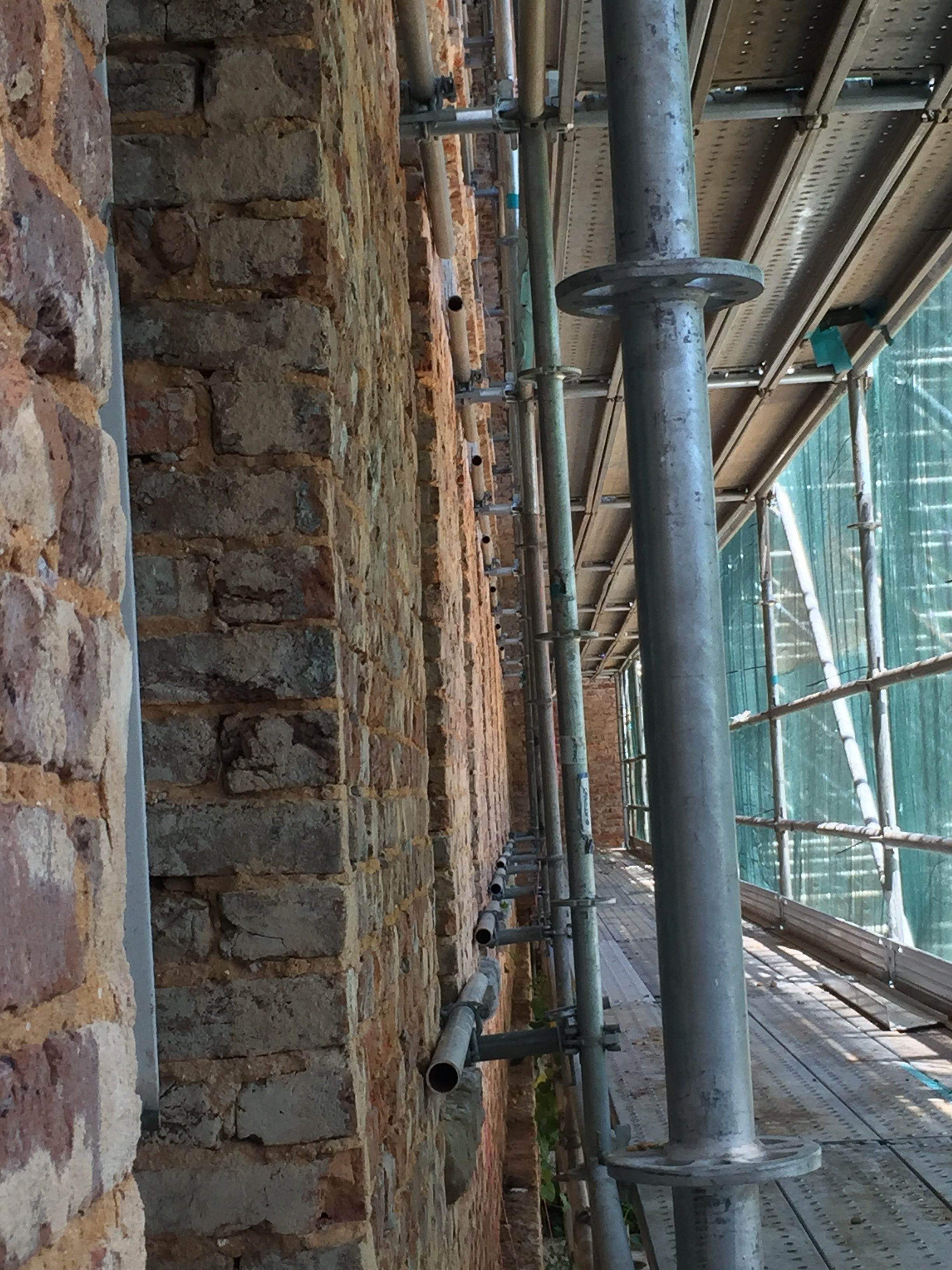 Bryce Scaffold Wall Shoring 6