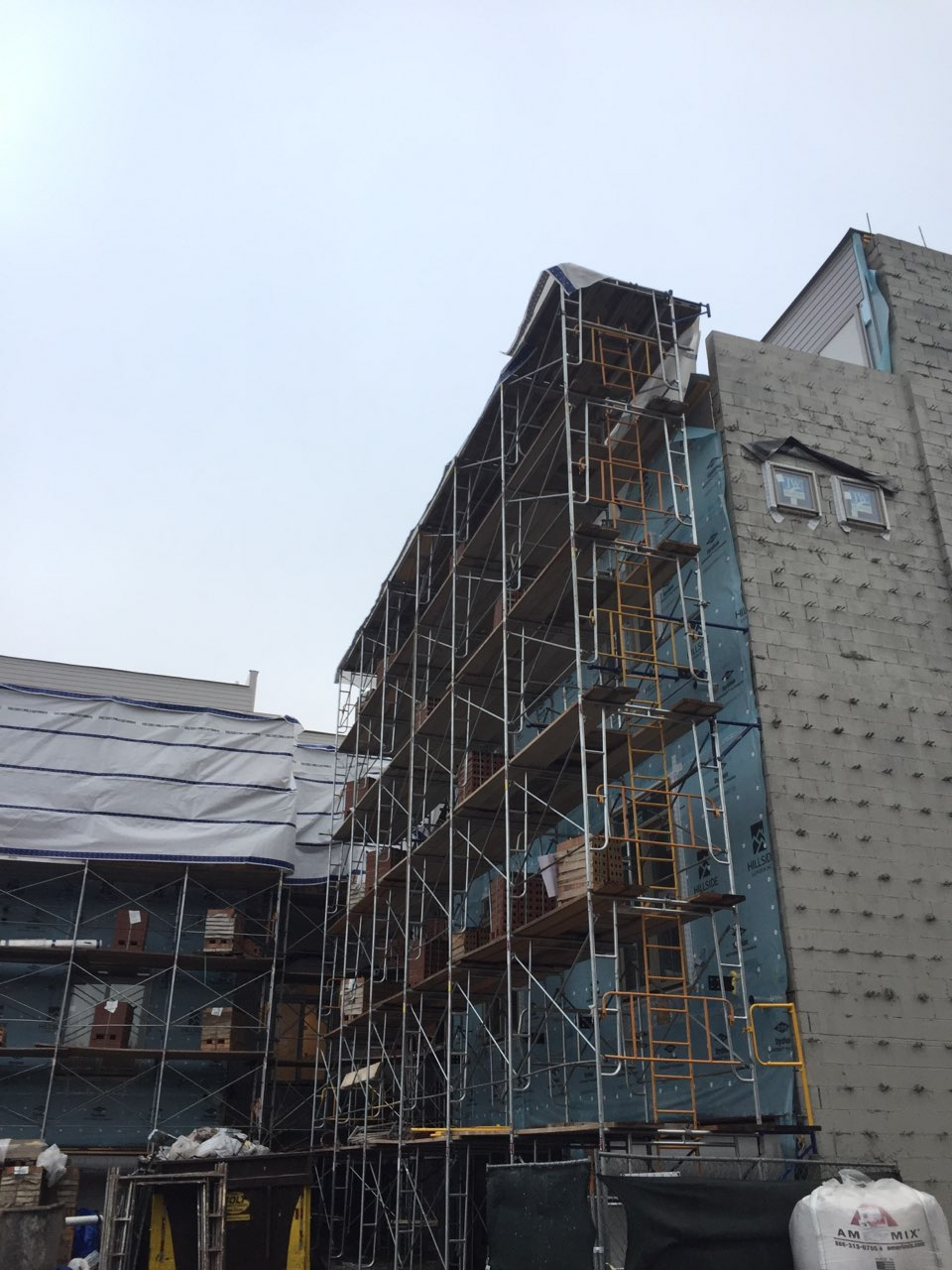 1400 S Halsted St scaffold 2